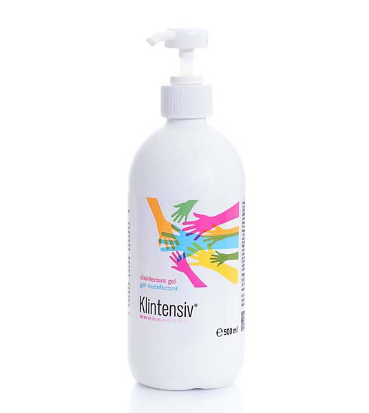 Solutie dezinfectanta pentru maini - Gel Klintensiv® 500ml